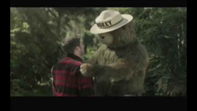 New Smokey Bear Hug