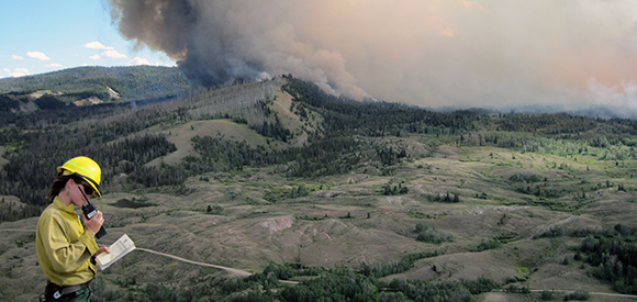 Managing Wildfire in Grand Teton National Park